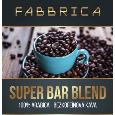 Bezkofeínová káva - Super Bar Blend